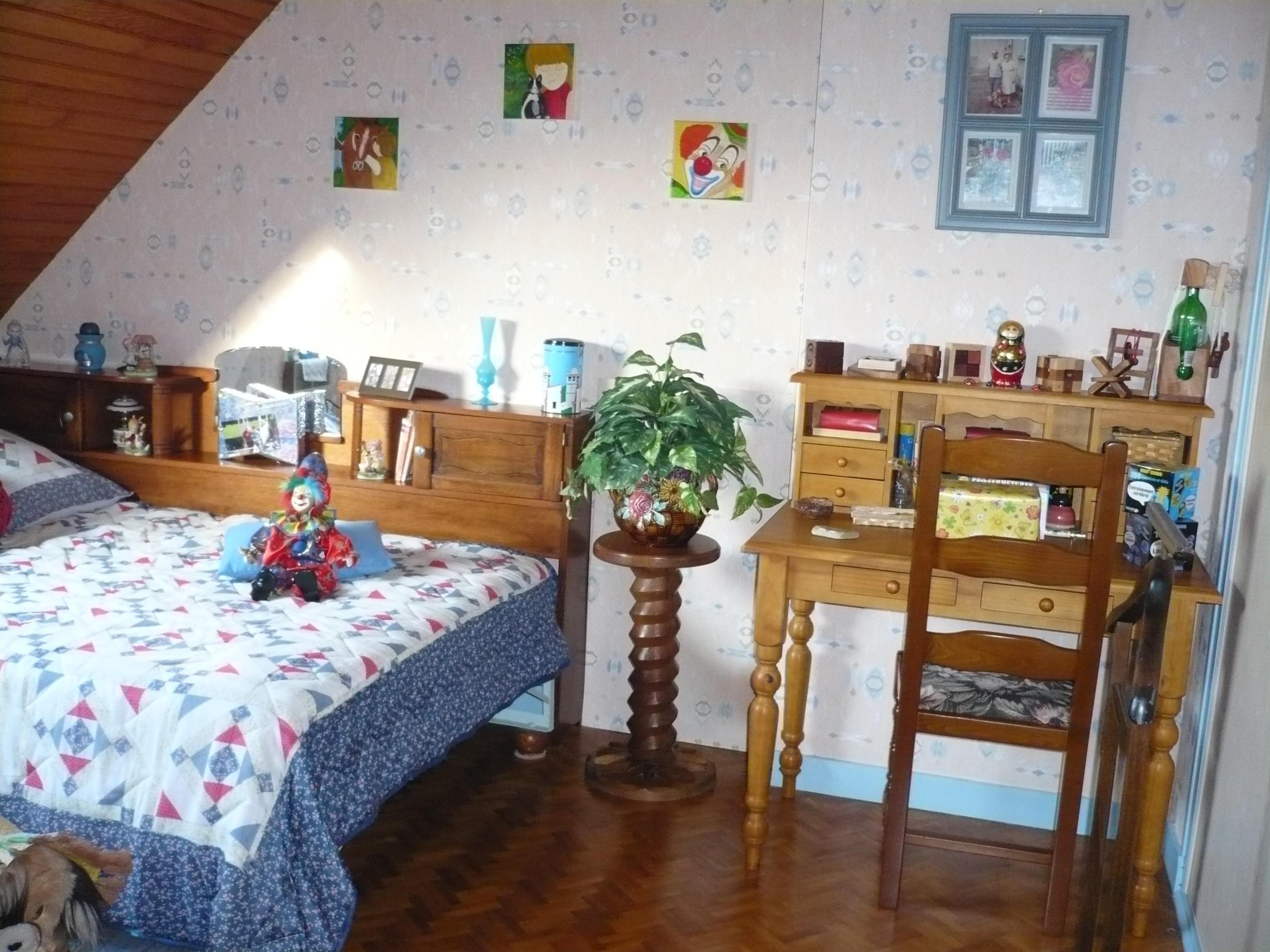 chambre (bleue )avant