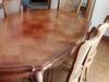 - grande table et chaises avant -